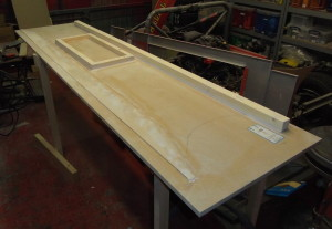Sidepod side mould